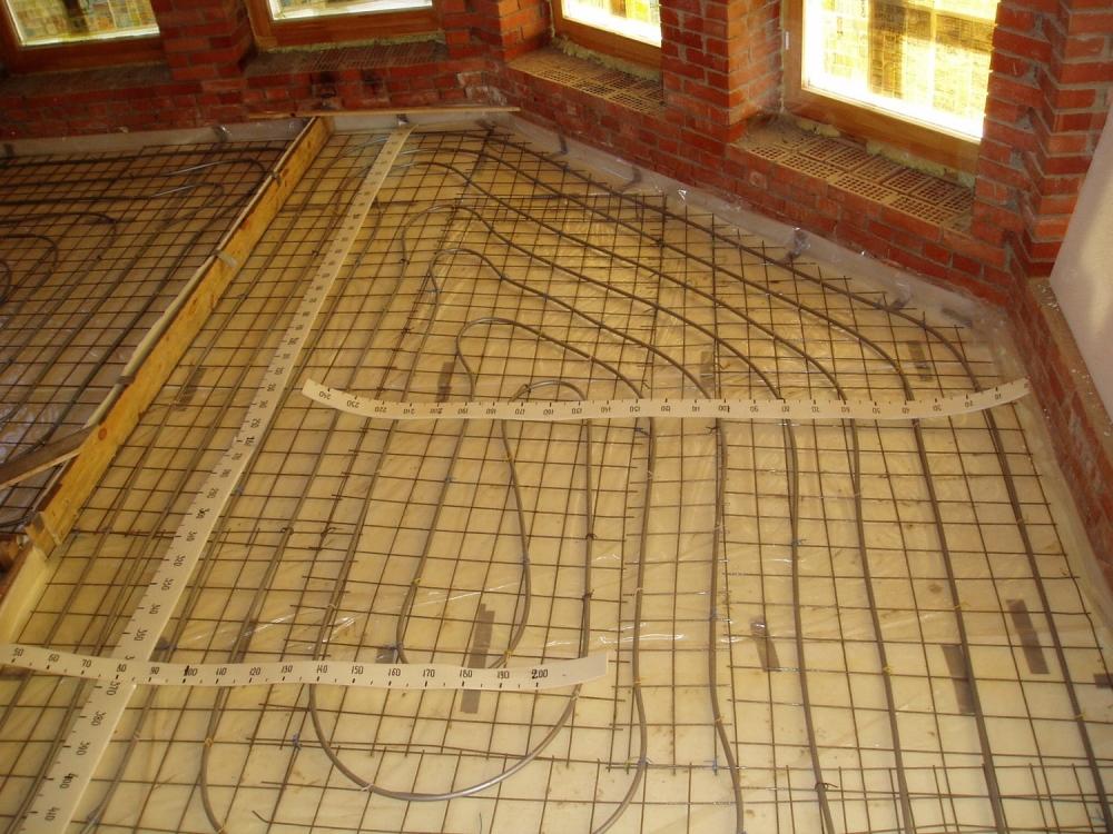 Васкелово фото теплый пол