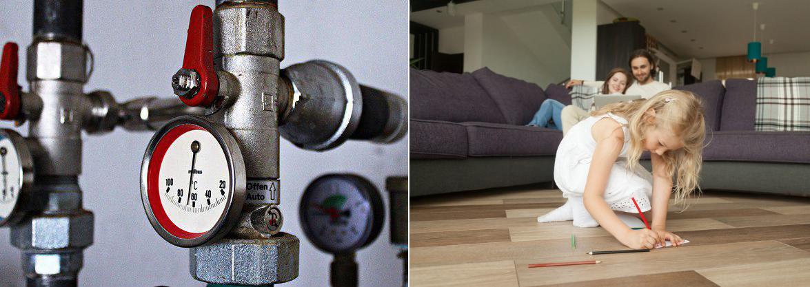 газовое отполение в доме